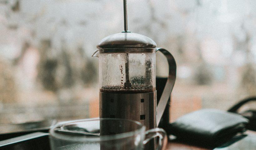 kaffeebereiter - Edelstahl - doppelwandig