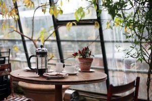 Französischer Kaffeebereiter